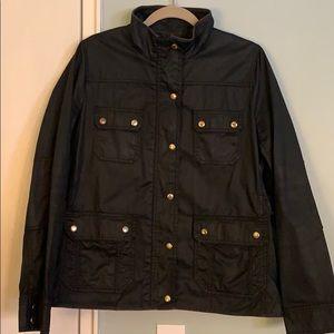 J. Crew Black Field Jacket, Large